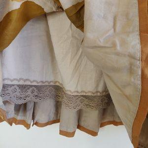 Anthropologie Skirts - Anthropologie Odille Tallow Blade Skirt